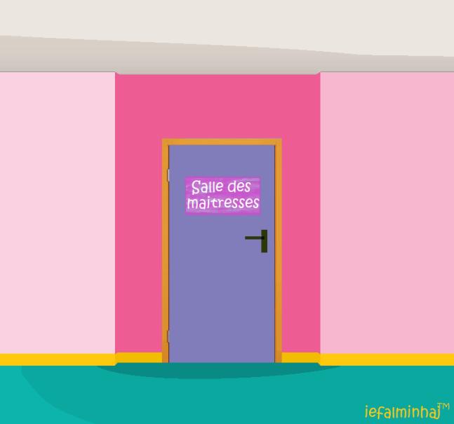 salle des maitresses porte