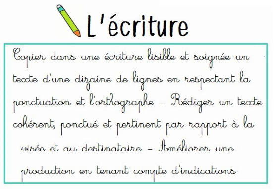 ecriture CYCLE 2